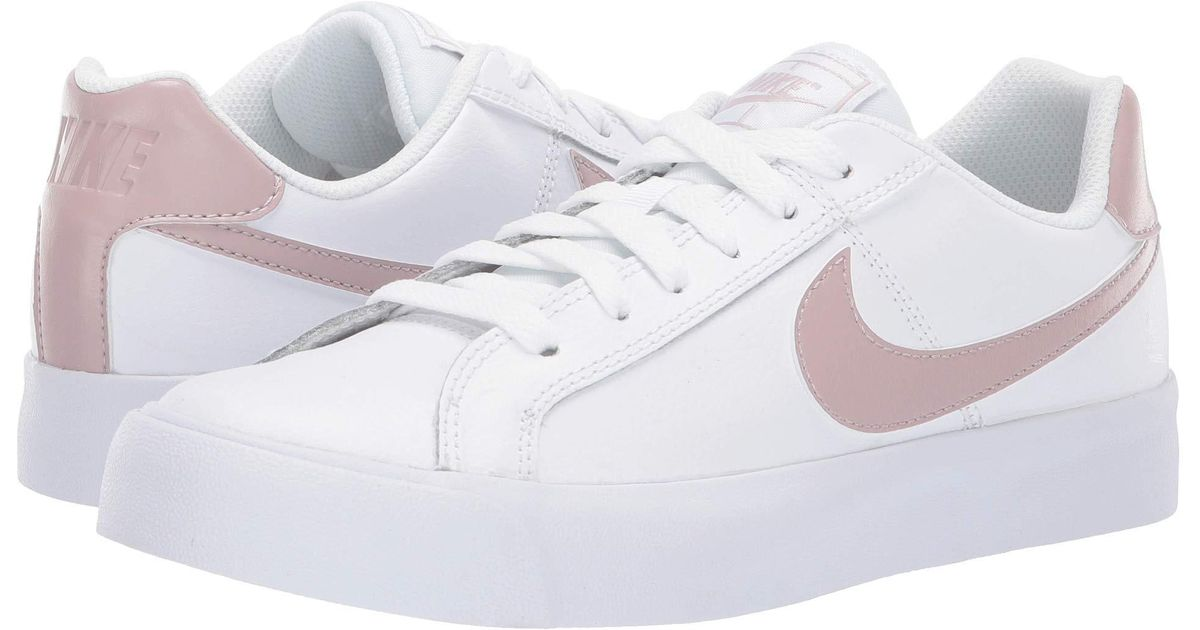 Lyst Nike Court Royale Ac White Particle Rose Women S Shoes In White