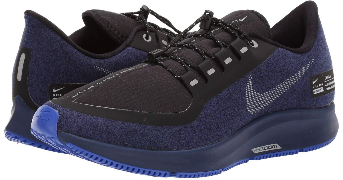 f408e6290a94f Lyst - Nike Air Zoom Pegasus 35 Shield (black anthracite anthracite dark  Grey) Men s Running Shoes in Metallic for Men