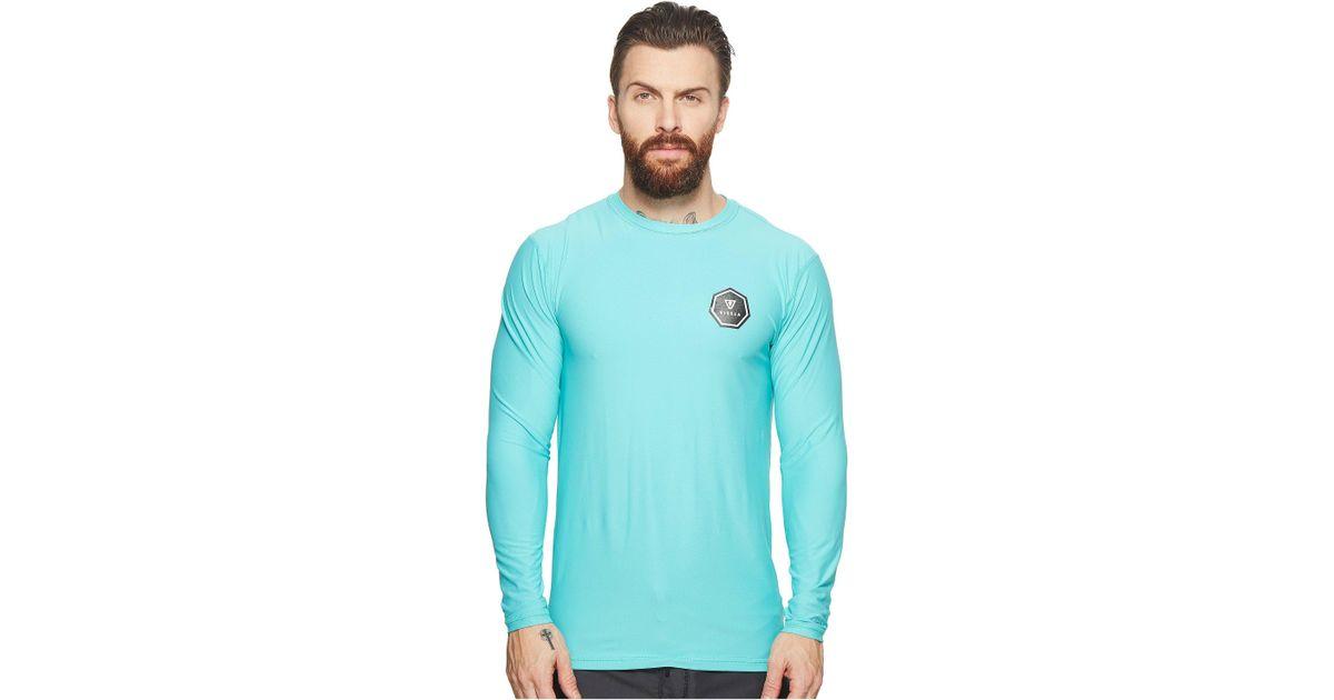 1c868fef23 Lyst - Vissla Everyday L s Surf Shirt in Blue for Men