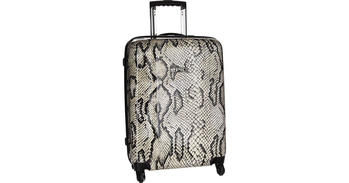 fc83dc57d6d EPIC Travelgear Pop Savanna 22 Trolly (snakeskin) Luggage for Men - Lyst