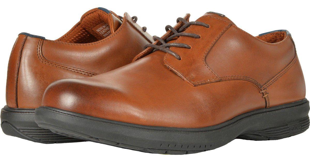87a5b13e0 Nunn Bush Marvin Street Plain Toe Oxford With Kore Slip Resistant Walking  Comfort Technology (tan) Men's Plain Toe Shoes in Brown for Men - Save 3% -  Lyst