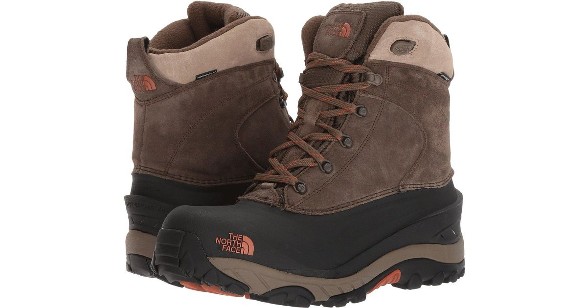 aaf1ad55ba Lyst - The North Face Chilkat Iii 200g Waterproof Winter Boots in Brown for  Men