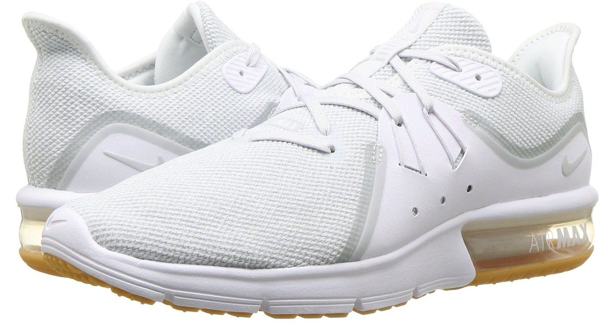 1f1ea26799e Lyst - Nike Air Max Sequent 3 in White for Men - Save 41%