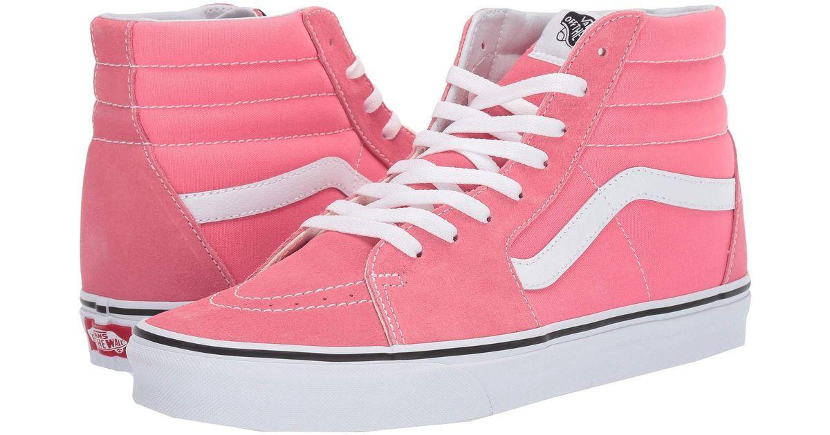 Lyst - Vans Sk8-hitm (dark Cheddar true White) Skate Shoes in Pink 9eee5ed9e68b