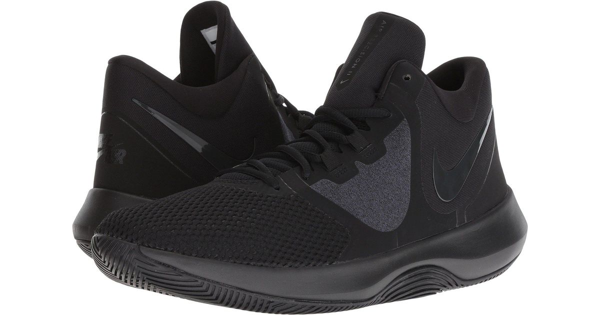 detailed look 5eb37 2ac12 Nike Air Precision Ii (black dark Stucco cargo Khaki sequoia) Men s  Basketball Shoes in Black for Men - Lyst