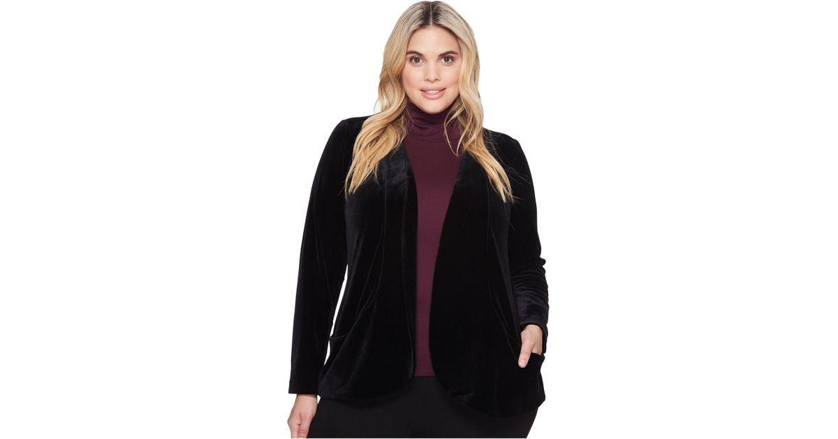 1ba2884997f Lyst - Lyssé Plus Size Ella Jacket in Black - Save 64.42307692307692%