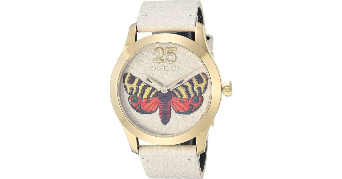 8eface3848e Lyst - Gucci G-timeless - Ya1264062 in White