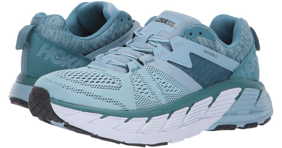 6384147658 Hoka One One Gaviota 2 (white/drizzle) Women's Shoes in Blue - Lyst