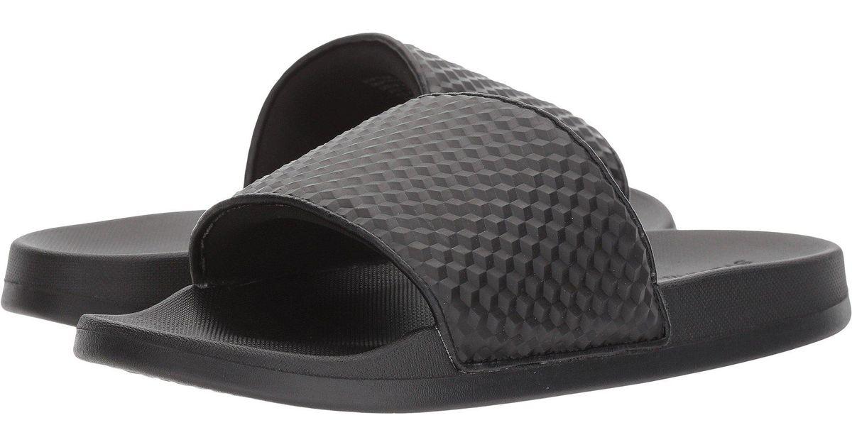 6733e8a258d Lyst - Steve Madden Riptide Slide Sandal in Black for Men - Save 61%
