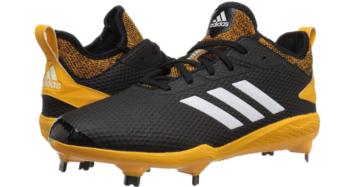 buy online d53b9 6d4b0 adidas Adizero Afterburner V (black cloud White power Red) Men s Cleated  Shoes in Black for Men - Lyst