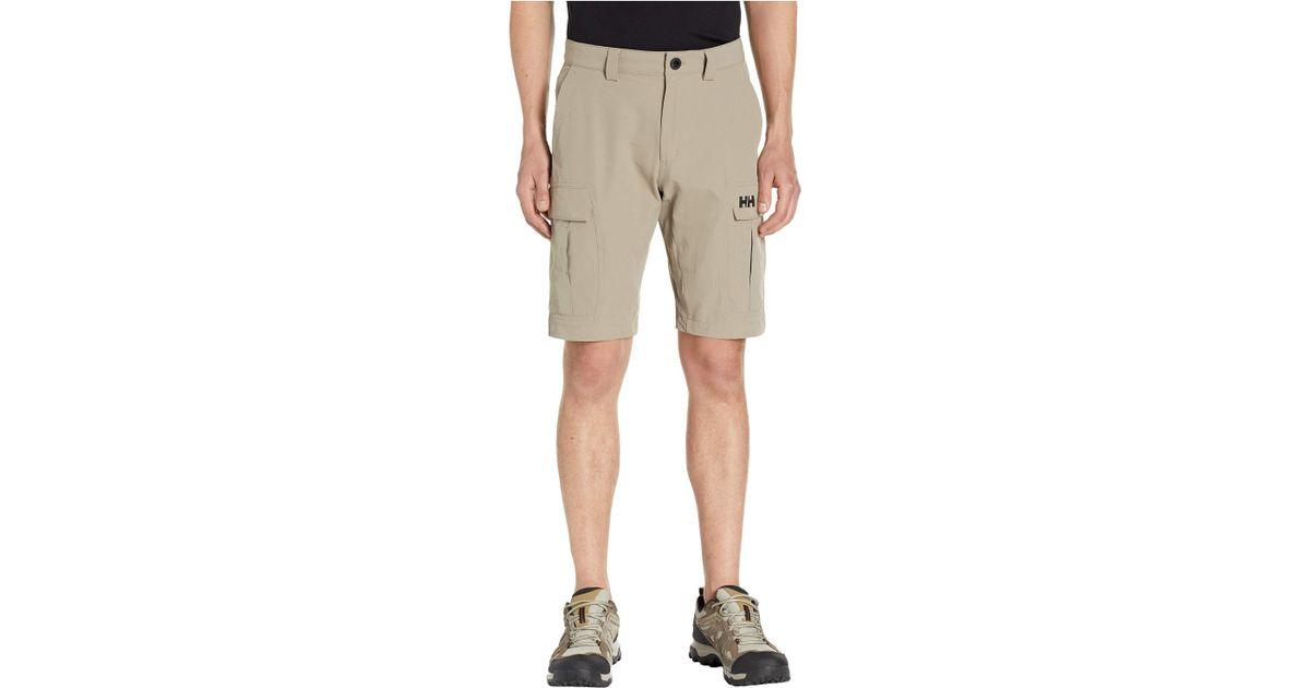 3fad2dd4f8 Helly Hansen Jotun Qd Cargo Shorts 11 (grey Fog) Men's Shorts for Men - Lyst