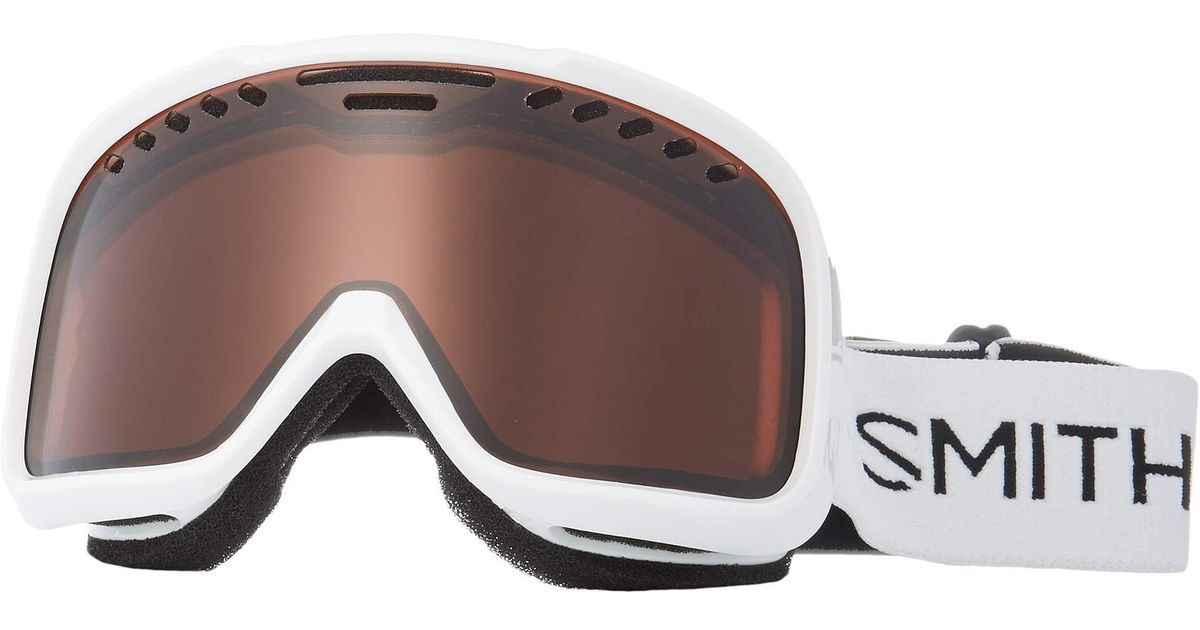 16a458fdde Lyst - Smith Optics Project Goggle (halo Frame rc36 Lens) Snow Goggles in  White