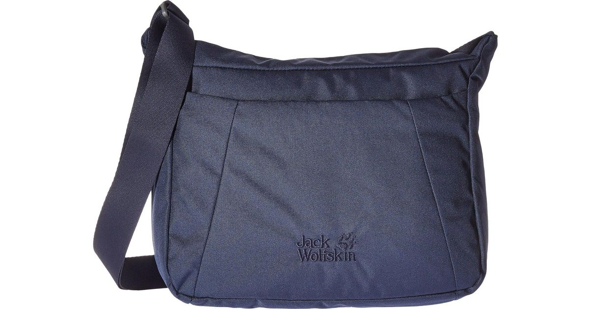 18c8d7a2b1580 Lyst - Jack Wolfskin Valparaiso Bag (midnight Blue) Backpack Bags in Blue
