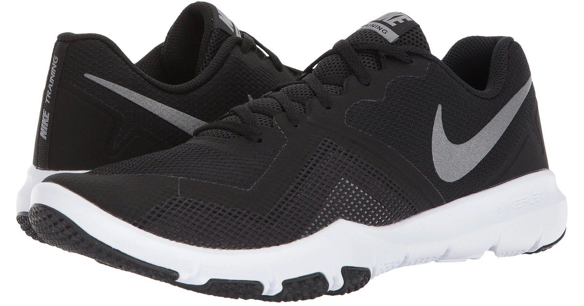 buy online 0bc78 3c35b Nike Flex Control Ii (black metallic Cool Grey cool Grey white) Men s Cross  Training Shoes in Black for Men - Save 31% - Lyst