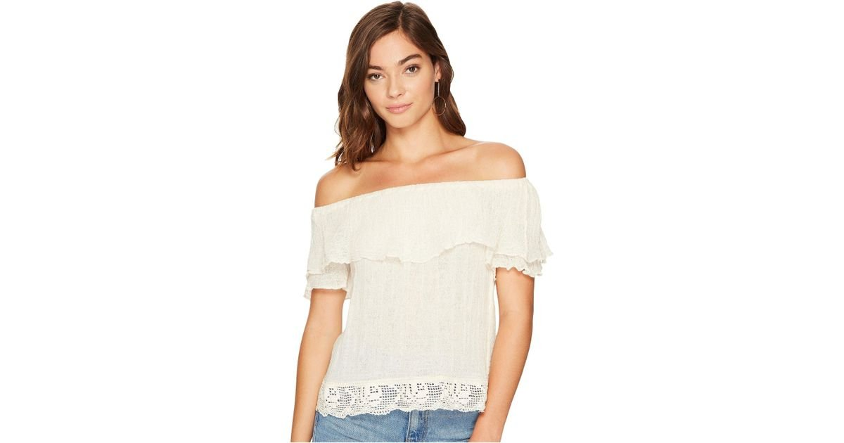 4ed5c289487 Lyst - Jen's Pirate Booty Tapajos Top in Natural - Save 58%
