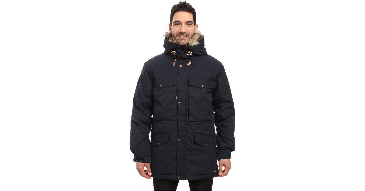 ae674c14044 Lyst - Fjallraven Singi Down Jacket (black) Men s Coat in Blue for Men