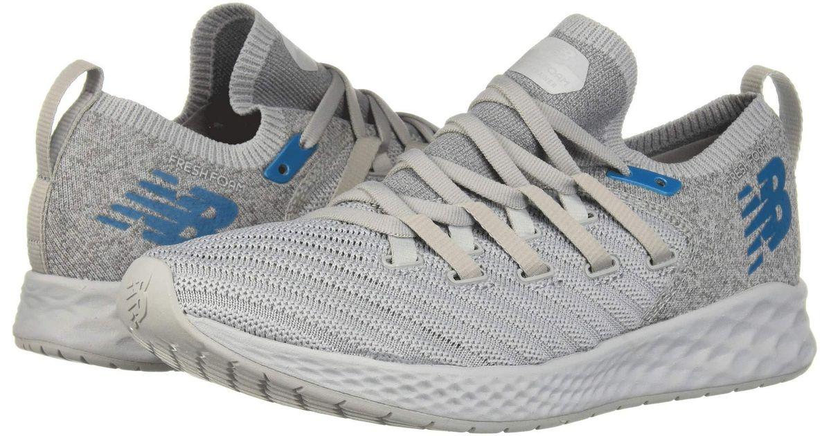 5528db7548 New Balance Fresh Foam Zante Trainer (rain Cloud/light Aluminum) Men's  Cross Training Shoes in Gray for Men - Lyst