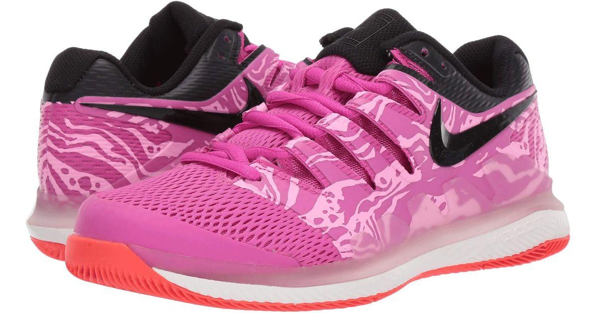sale retailer 1415d 067b8 azul carmesí industrial Vapor Zoom rosa Zapatillas de brillante para en  tenis X Air blanco mujer Nike ...
