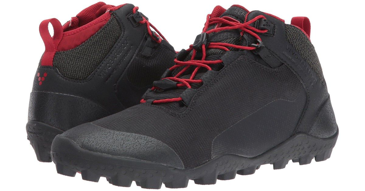 aac9e15e Lyst - Vivobarefoot Hiker Soft Ground Mesh (black Mesh) Women's Shoes in  Black for Men - Save 39%