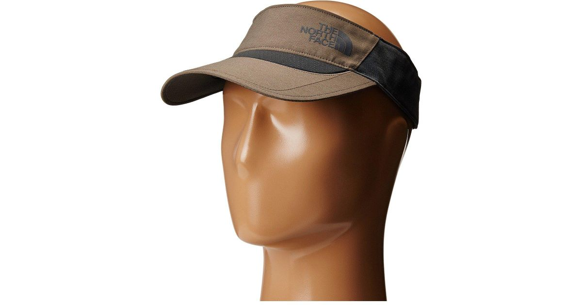 5d09e8abf5b Lyst - The North Face Better Than Naked Visor (falcon Brown (prior Season))  Casual Visor in Brown for Men