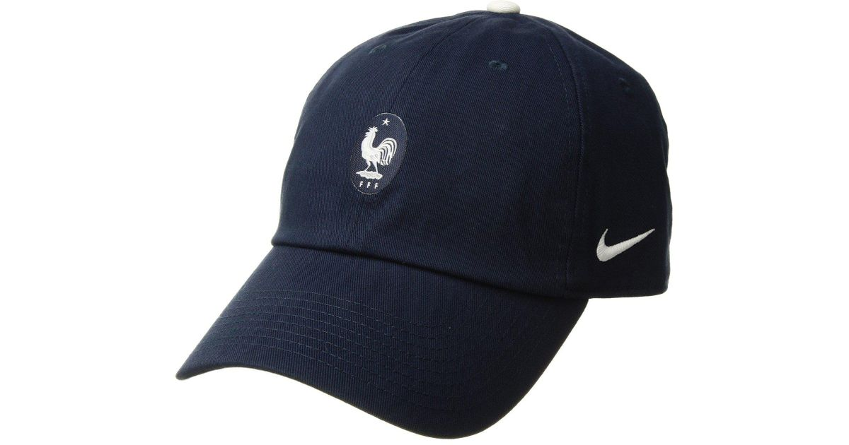 a573ccac7a069 Nike Fff Heritage 86 Cap Core in Blue for Men - Lyst