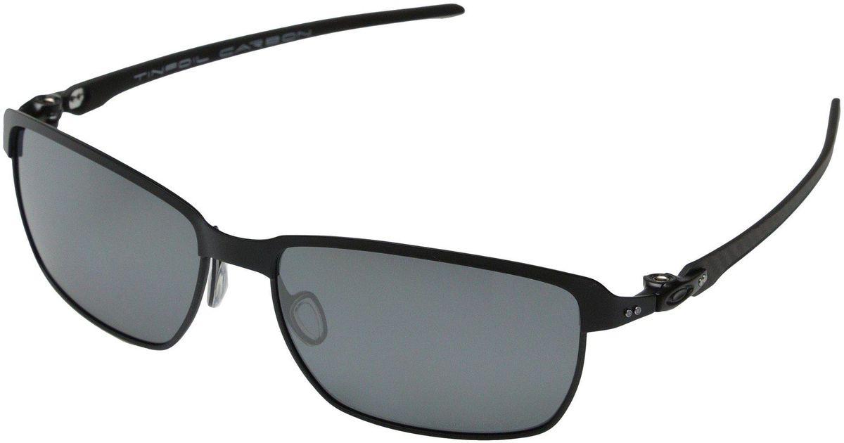 f9231059552dd Lyst - Oakley Tinfoil Carbon in Black for Men