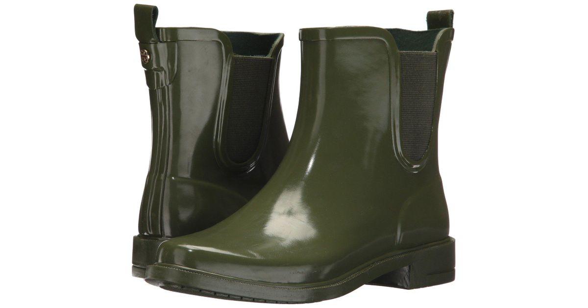 231061094ba5 Lyst - Tory Burch Stormy Rain Bootie in Green