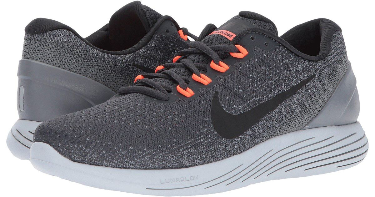 9310354b08b Lyst - Nike Lunarglide 9 (medium Olive dark Stucco black) Men s Running  Shoes in Gray for Men