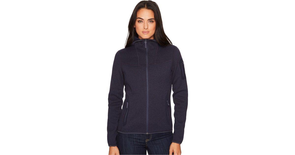 47b8d8bca61 Arc'teryx Covert Hoody (black Sapphire) Women's Sweatshirt in Blue - Lyst