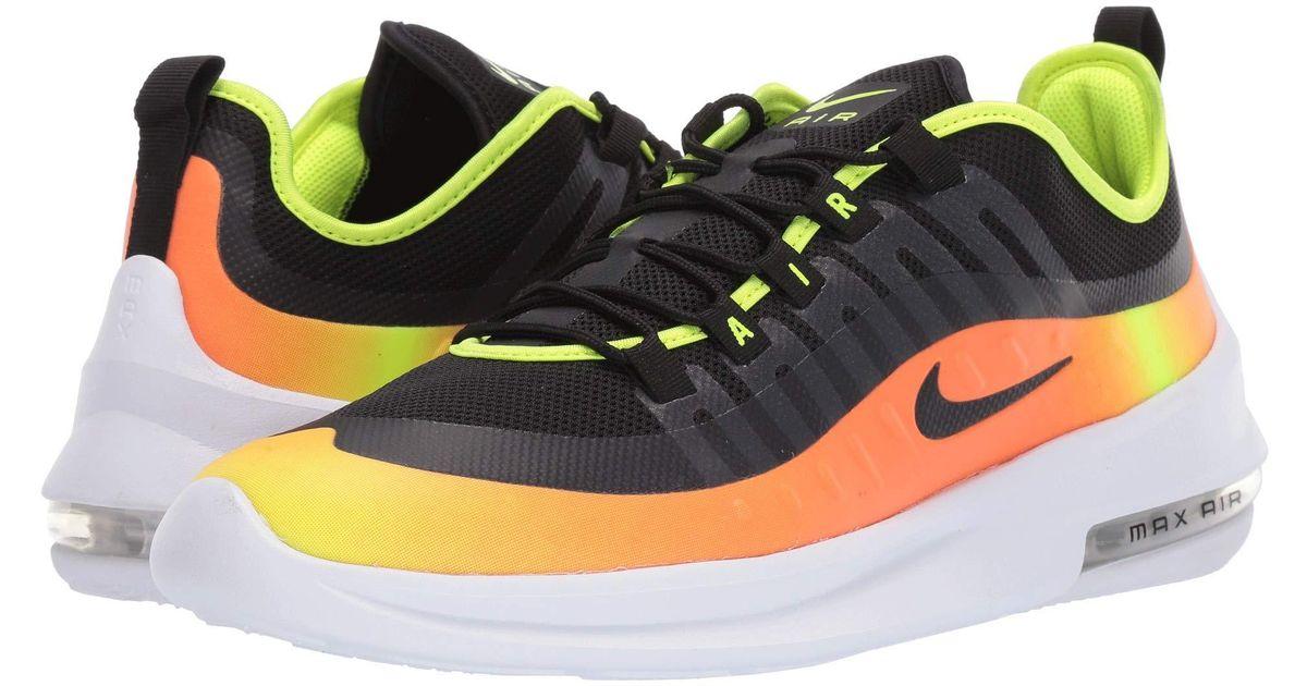 da00c67915d Nike Air Max Axis Premium (black/black/volt/total Orange) Men's Shoes in  Black for Men - Lyst