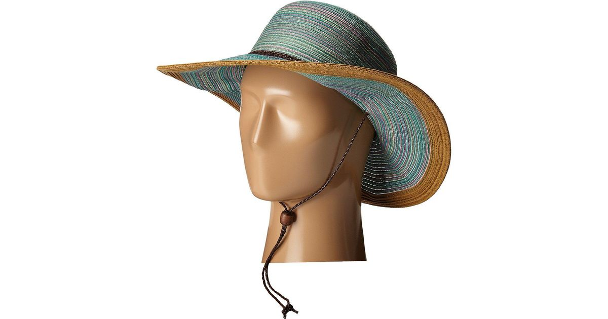 Lyst - San Diego Hat Company Mxm1022 4 Inch Brim Sun Hat With Adjustable  Chin Cord (purple) Caps in Blue 2235436dc33