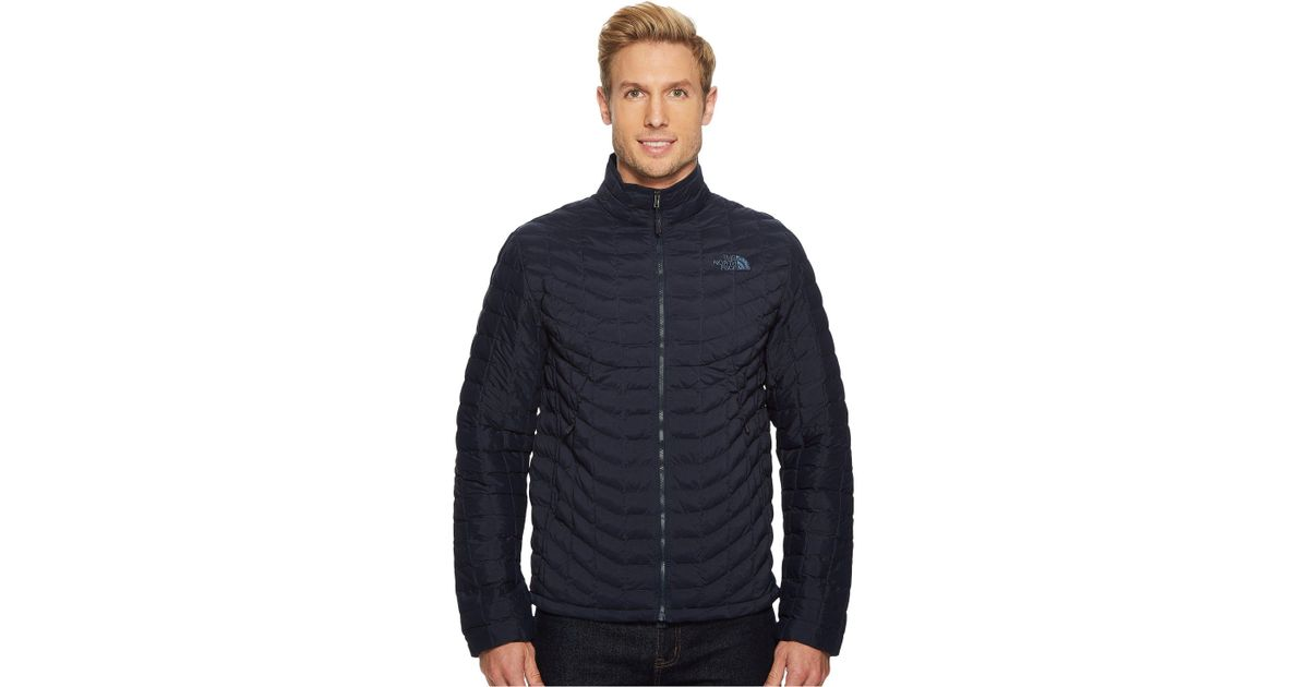 43aa5778f20f Lyst - The North Face Stretch Thermoball Full Zip in Blue for Men
