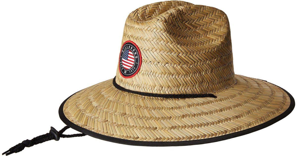 Lyst - Billabong Native Rotor Tides Lifeguard Hat (usa) Bucket Caps for Men d65fe7aaaf2