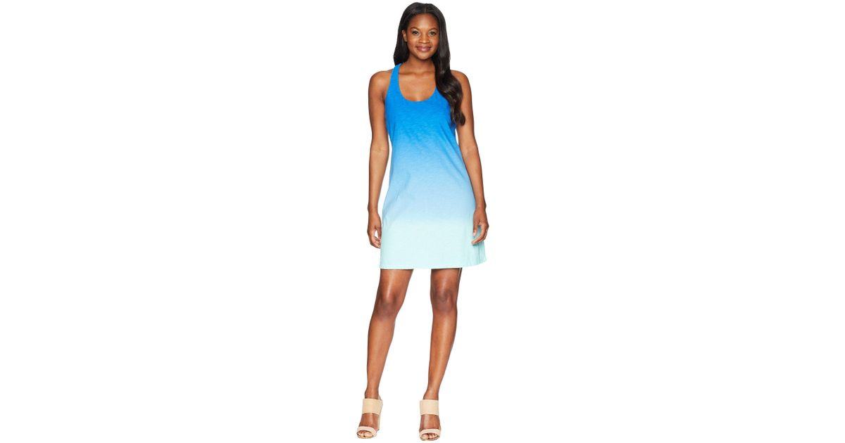 db15ad0341 Tommy Bahama Arden Dip-dye Tank Dress (blue Radiance) Dress in Blue - Save  28% - Lyst