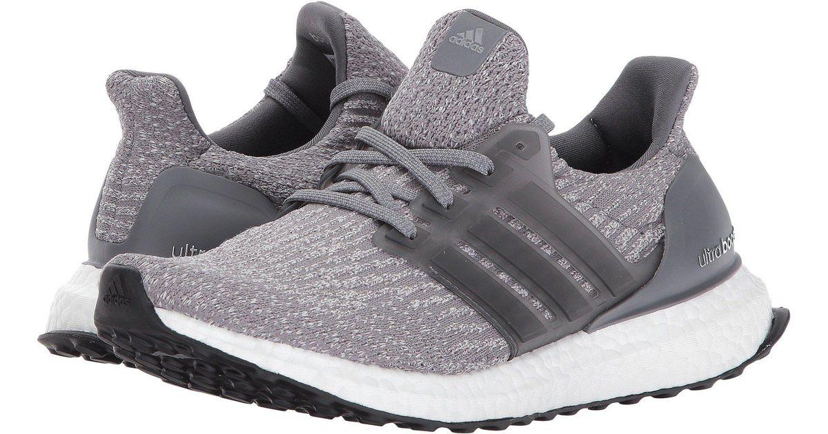 2486293ce9c27 Lyst - adidas Originals Ultraboost (footwear White footwear White footwear  White) Women s Running Shoes in Gray