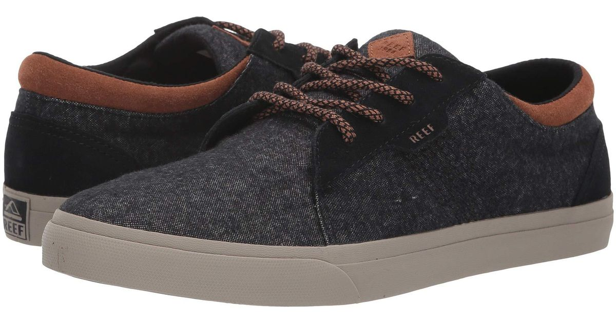 2a43fc12f76b2 Lyst - Reef Ridge Tx (black tobacco) Men s Lace Up Casual Shoes in Black  for Men
