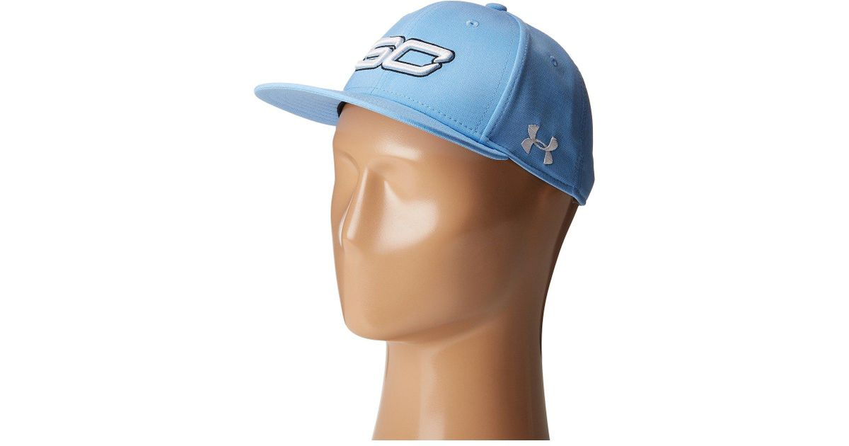 94033538231 Lyst - Under Armour Ua Sc30 Core Snapback Cap (youth) in Blue for Men