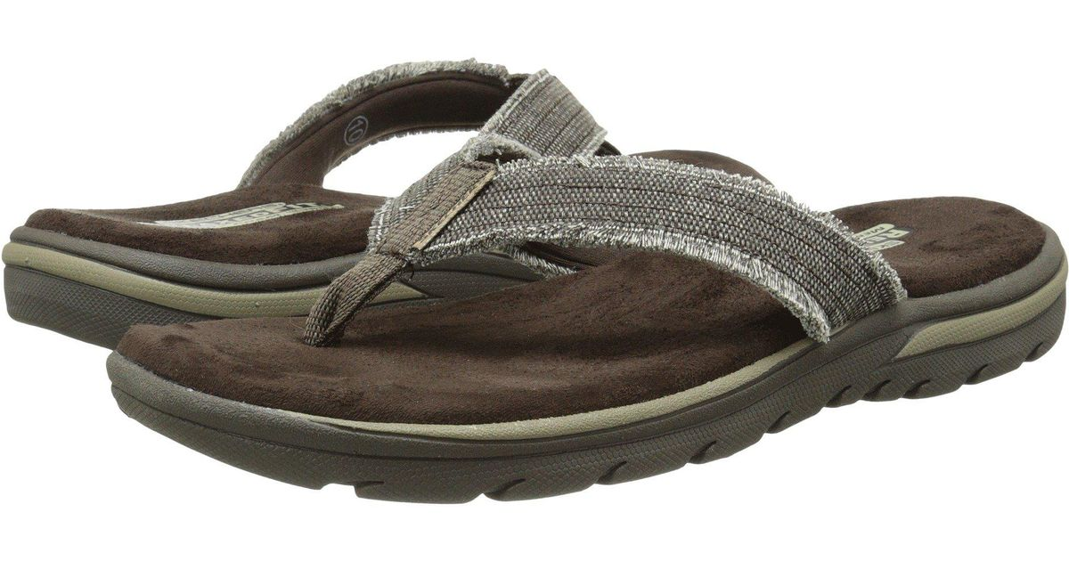 e96e4046bcbd Lyst - Skechers Relaxed Fit 360 Supreme - Bosnia (chocolate) Men s Sandals  in Brown for Men