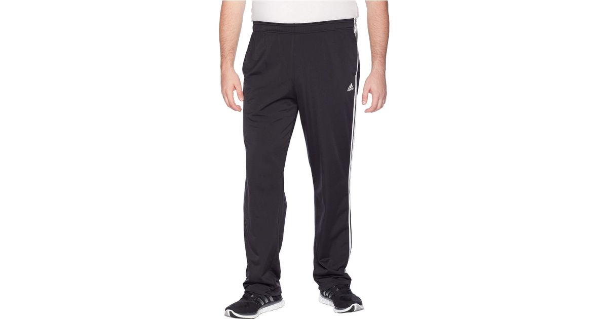 dc564097c adidas Big Tall Essentials 3-stripes Regular Fit Tricot Pants (dark Grey  Heather Solid Grey/black) Men's Casual Pants in Black for Men - Lyst
