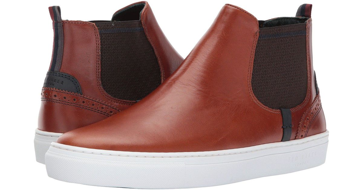 cbc0af71a1acd2 Lyst - Ted Baker Lykeen (dark Tan Leather) Men s Shoes for Men - Save 50%