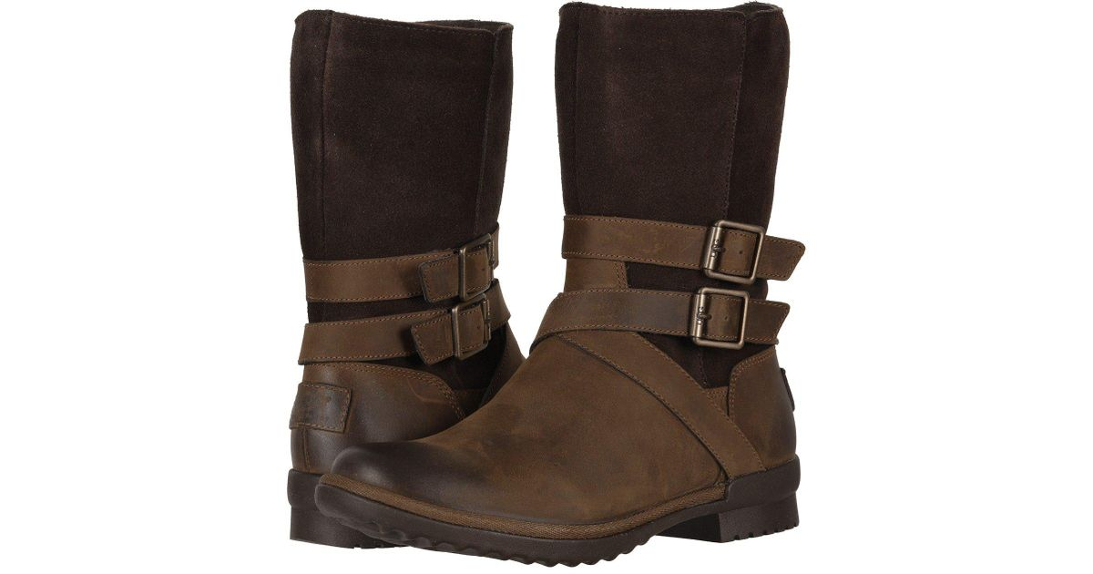 52dee8b75 UGG Lorna Boot (coconut Shell) Women's Pull-on Boots in Brown - Lyst