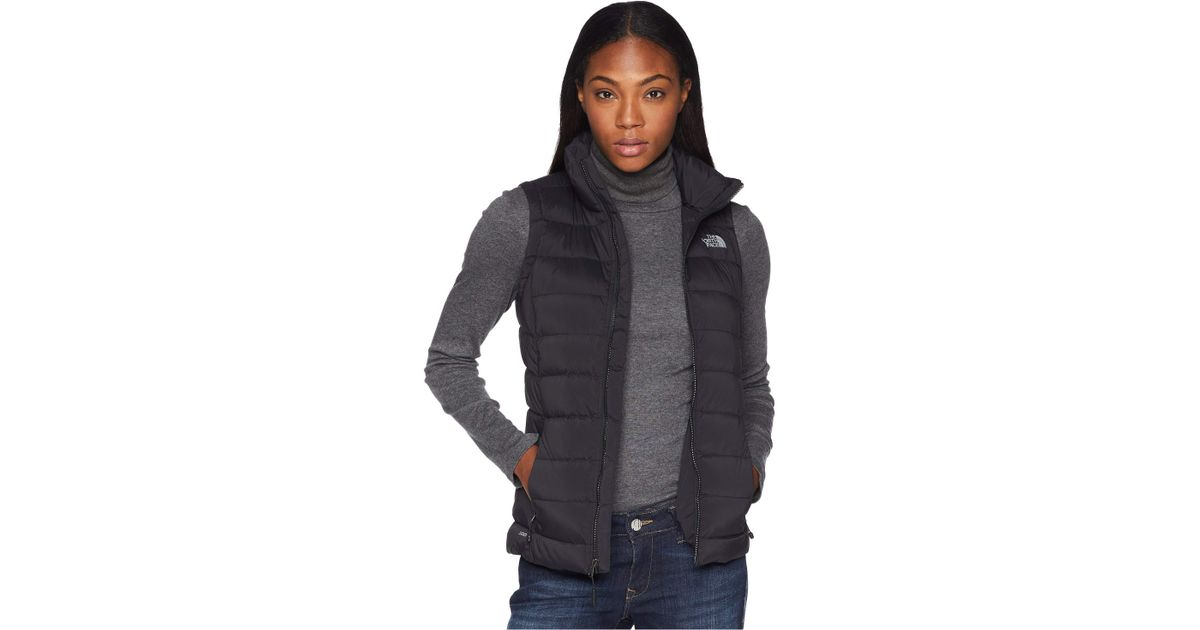 094db7a3f495 Lyst - The North Face Stretch Down Vest (tnf Black) Women s Vest in Black