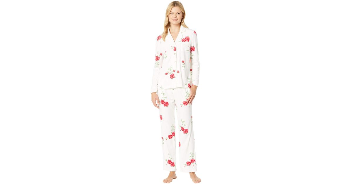 Lyst - Carole Hochman Luxe Cozy Fleece Pajama Set - Save 50% 29624fe6c