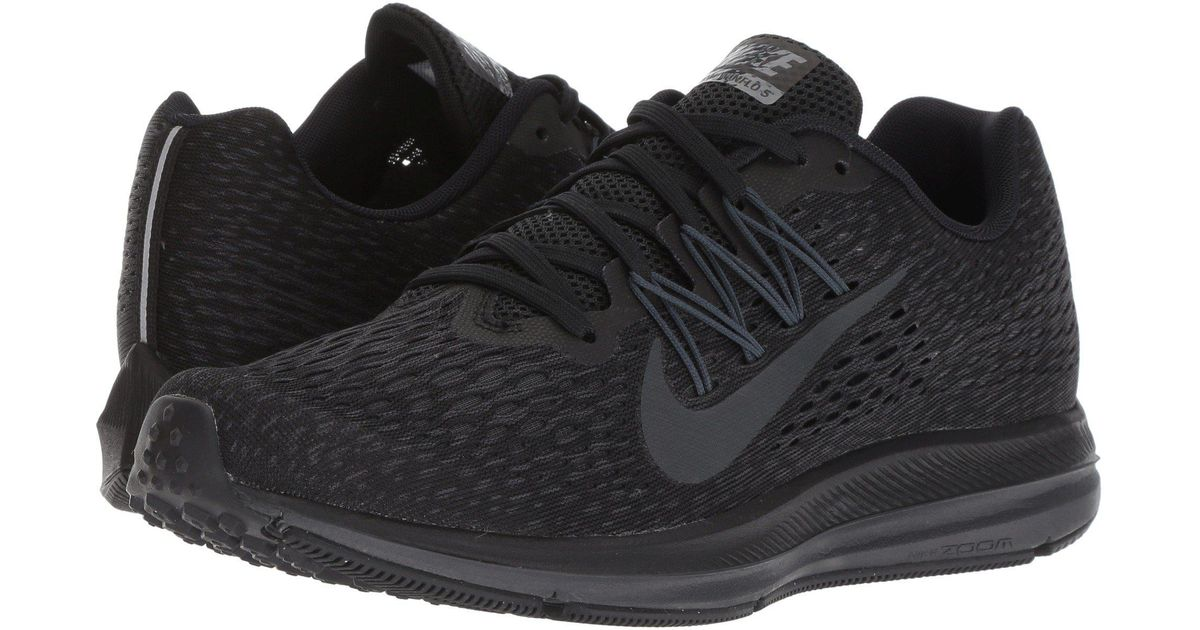 huge selection of f3d97 429e6 Lyst - Nike Air Zoom Winflo 5 (black white anthracite) Women s Running  Shoes in Black