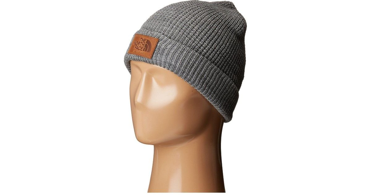 Lyst - The North Face Made In The Usa Beanie in Gray for Men e6e9ff24a03
