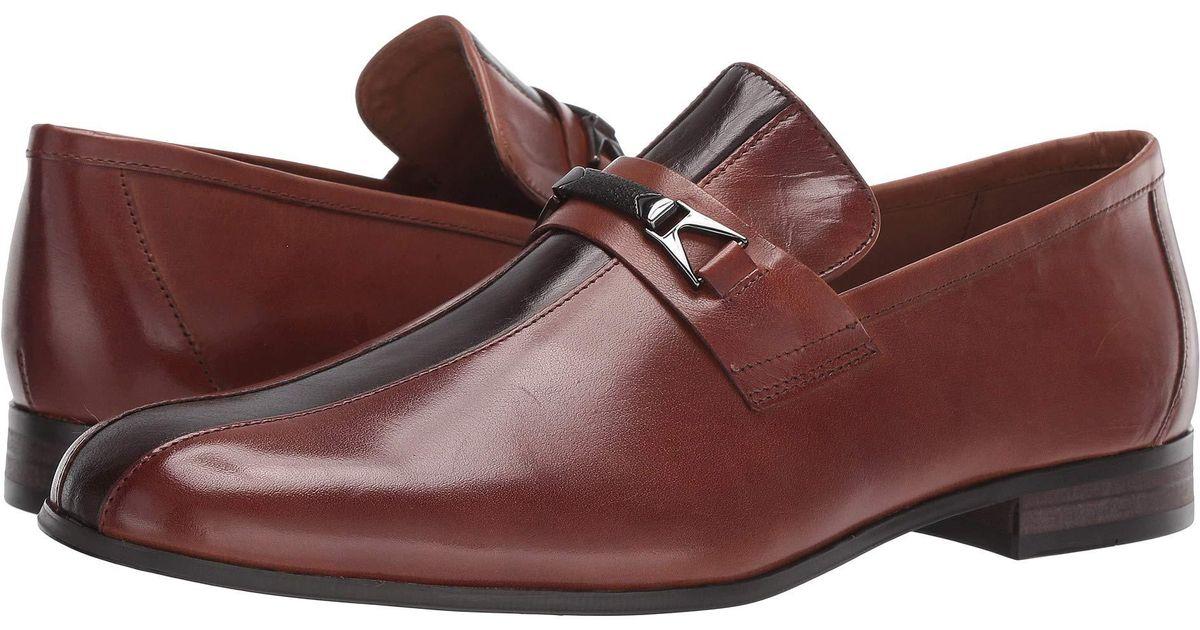 2f7ab5b3070 Steve Madden - Brown Graft (cognac Leather) Men's Shoes for Men - Lyst