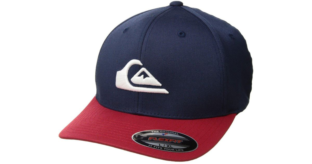 info for f7198 3f8a9 Lyst - Quiksilver Mountain And Wave Hat (garnet 2) Caps in Blue for Men