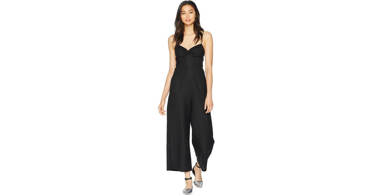 eaf68846fd90 Lyst - Astr Leighton Jumpsuit (off-white) Women s Jumpsuit   Rompers One  Piece in Black