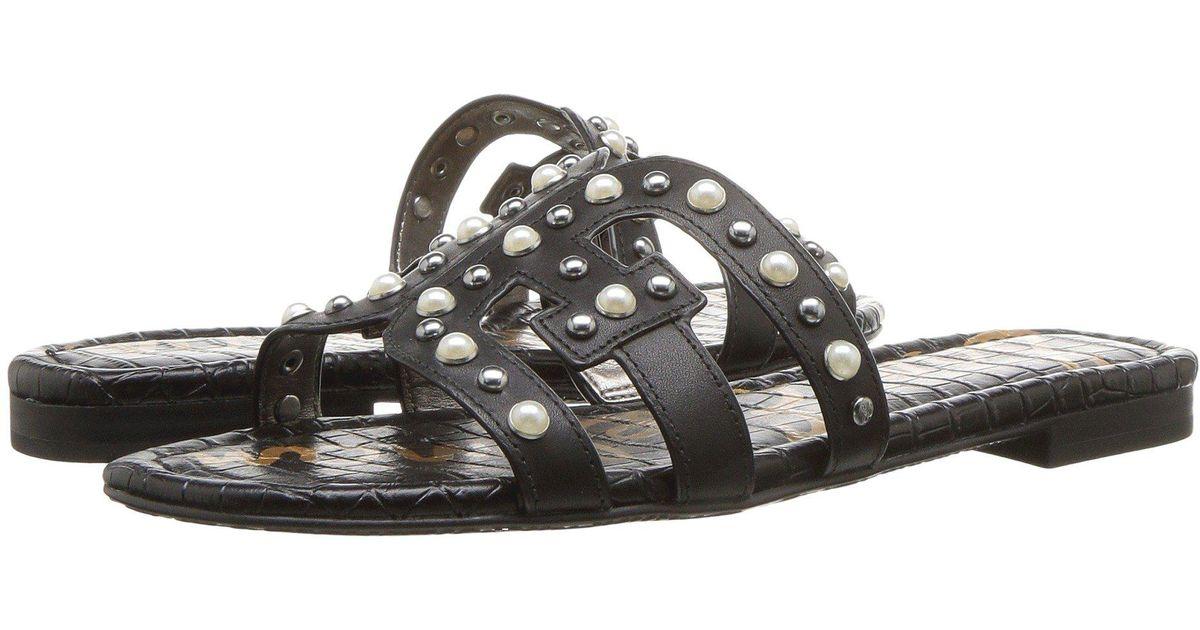 8543f9d9e44e78 Lyst - Sam Edelman Bay 2 Slide Sandal in Black - Save 25%