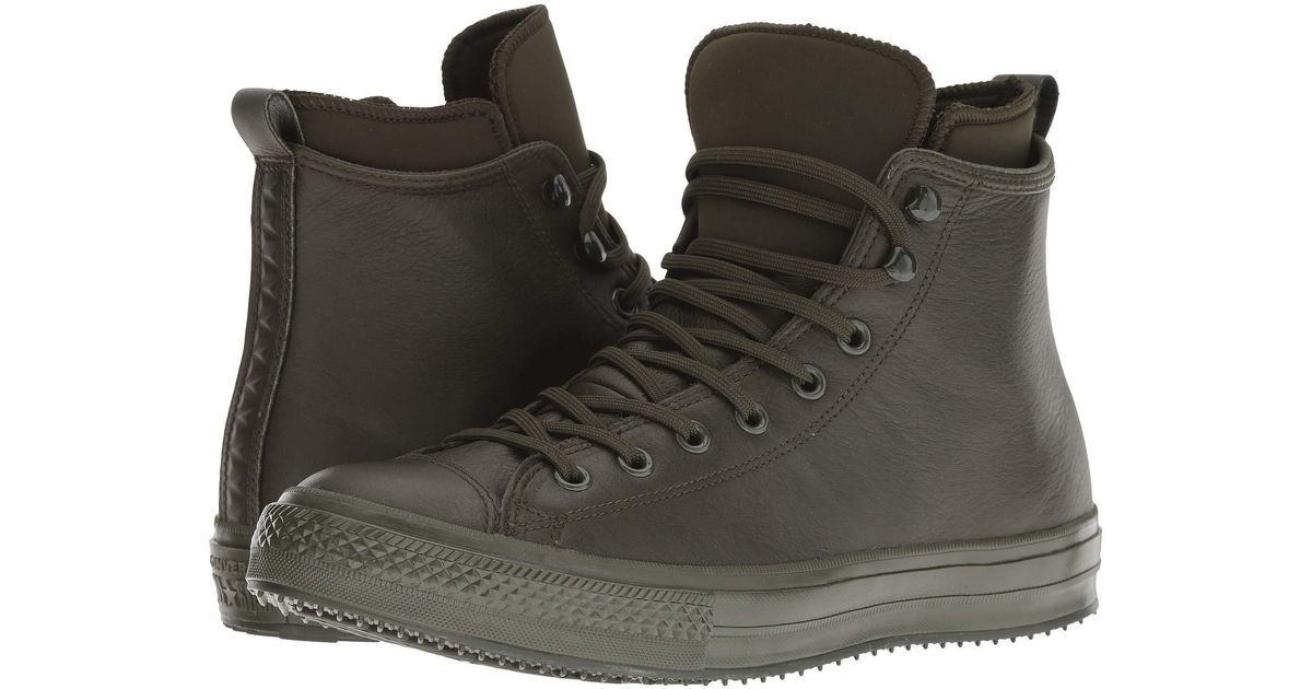 beb597449e3565 Lyst - Converse Chuck Taylor All Star Waterproof Boot - Hi (utility Green utility  Green) Lace Up Casual Shoes in Green for Men
